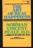 Art of Real Happiness - Blanton Peale - Mass Market Paperback