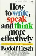 How to Write,speak+think More Effect.