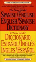 New World Spanish/English English/Spanish Dictionary