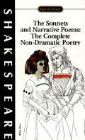 Sonnets Narrative Poems  The Complete Non-Dramatic Poetry With New Literary Criticism and an...