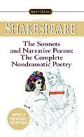 The Sonnets and Narrative Poems - the Complete Non-Dramatic Poetry