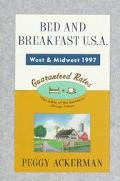 Bed and Breakfast, Midwest 1997