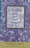 Civility:manners,morals+etiquette...