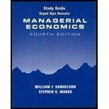 Study Guide to Accompany Managerial Economics