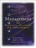 Management for Engineers, Scientists and Technologists