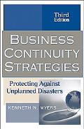 Business Continuity Strategies Protecting Against Unplanned Disasters