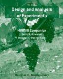 Design and Analysis of Experiments: MINITAB Companion