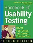 Handbook of Usability Testing: Howto Plan, Design, and Conduct Effective Tests