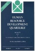 Human Resource Development Quarterly, Vol. 18