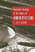 Annotated Readings in the History of Modern Psychology