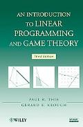 Introduction to Linear Programming and Game Theory