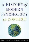 A History of Modern Psychology in Context