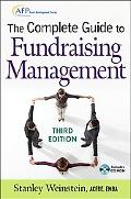 The Complete Guide to Fundraising Management (Afp/Wiley Fund Development Series), with CD