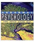 Abnormal Psychology 11E