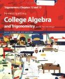 Investigating College Algebra and Trigonometry with Technology