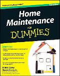 Home Maintenance For Dummies (For Dummies (Home & Garden))