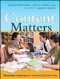 Content Matters: A Disciplinary Literacy Approach to Improving Student Learning (Jossey-Bass...