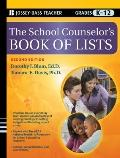 The School Counselor's Book of Lists (J-B Ed: Book of Lists)