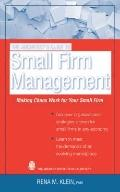 Architect's Essentials of Small Firm Management