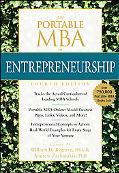 The Portable MBA in Entrepreneurship (Portable Mba Series)