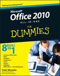 Office 2010 All-in-One For Dummies (For Dummies (Computer/Tech))