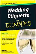 Wedding Etiquette For Dummies (For Dummies (Psychology & Self Help))