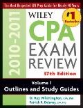 Wiley CPA Examination Review, Outlines and Study Guides (Wiley Cpa Examination Review Vol 1:...