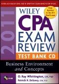Wiley CPA Exam Review 2011 Test Bank : Business Environment and Concepts