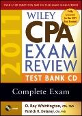 Wiley CPA Exam Review 2011 Test Bank Set : Complete Exam