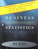Business Statistics : Contemporary Decision Making, 6th Edition Binder Ready Version