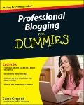 Professional Blogging For Dummies (For Dummies (Computer/Tech))