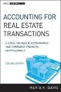 Accounting for Real Estate Transactions : A Guide for Public Accountants and Corporate Finan...