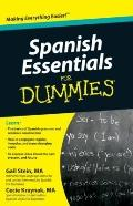 Spanish Essentials For Dummies (For Dummies (Language & Literature))