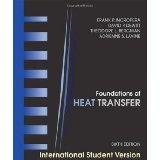Introduction to Heat Transfer 6th Edition By Theodore L. Bergman, David P. Dewitt, Frank P. ...
