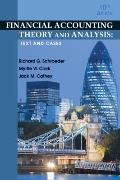 Financial Accounting Theory and Analysis: Text and Cases, 10th Edition
