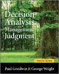 Decision Analysis for