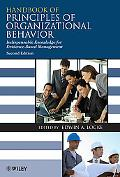 Handbook of Principles of Organizational Behavior: Indispensable Knowledge for Evidence-Base...