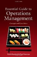Essential Guide to Operations Management: Concepts and Case Notes (Wiley)
