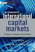 Introduction to International Capital Markets: Products, Strategies, Participants