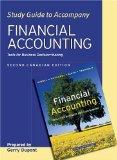 Financial Accounting, Study Guide: Tools for Business Decision-Making