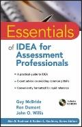 Essentials of IDEA for Assessment Professionals (Essentials of Psychological Assessment)