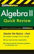 CliffsNotes Algebra II QuickReview (Cliffs Quick Review)