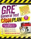 CliffsNotes GRE General Test Cram Plan (Cliffsnotes Cram Plan)