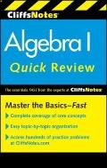 CliffsNotes Algebra I Quick Review