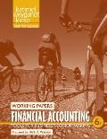 Financial Accounting : Tools for Business Decision Making Working Papers