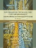 Information Technology for Management: Improving Strategic and Operational Perform