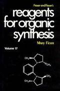 Fieser and Fieser's Reagents for Organic Synthesis