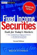 Fixed Income Securities Tools for Today's Markets