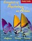 Essentials of Psychology in Action, Study Guide - Karen Huffman - Hardcover - Study Guide
