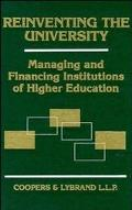 Reinventing the University Managing and Financing Institutions of Higher Education